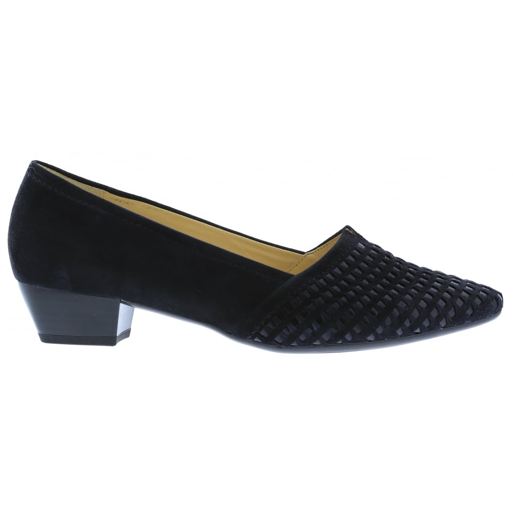 Gabor Womens Target Ocean Slip On Low Heeled Court Shoes 65.135.16. ‹