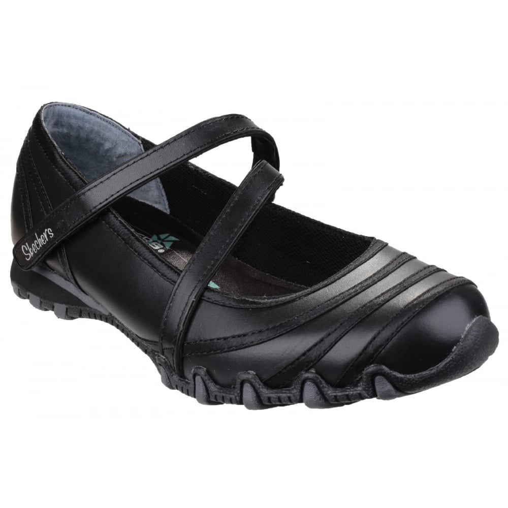 Skechers Bikers Black Shoes