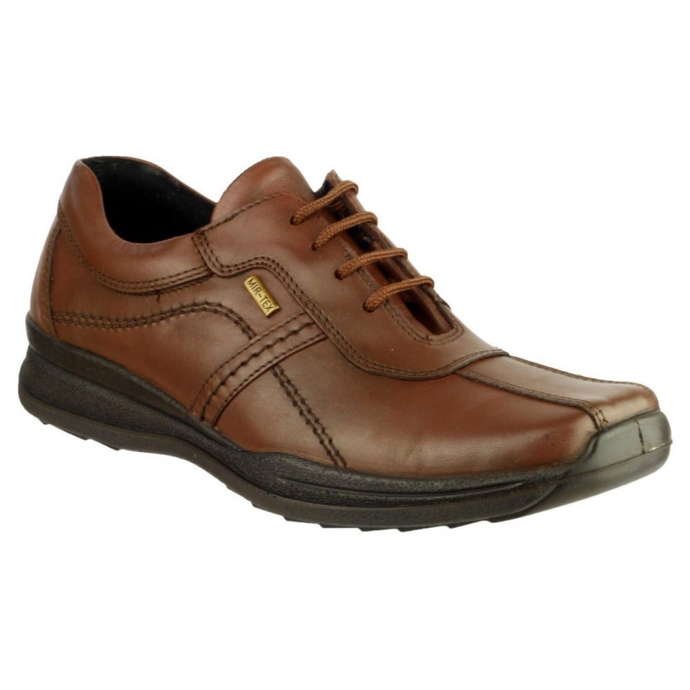 Cotswold - Tan - Leather Lace-Up Mens Shoes - Size 6 kwxAK8T