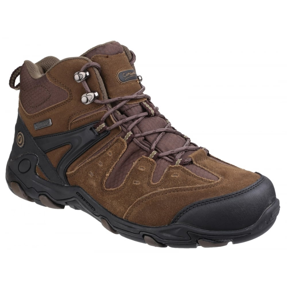 Mens Coberley Lace Up Waterproof Hiking Boots