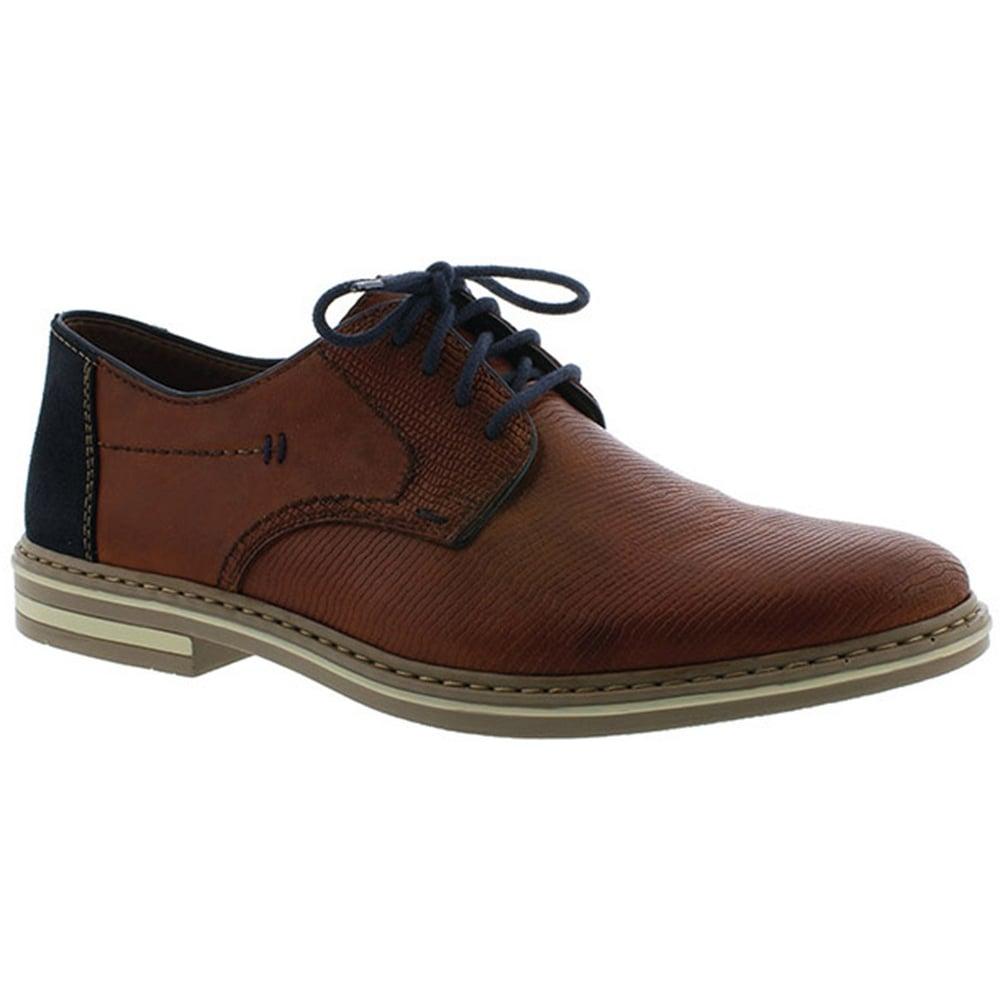 Rieker B14B9 Men's Smart Lace Up Shoes 46 24 Brown  Chaussures Homme adidas Terrex Cc Boat dAzs74PQJ2