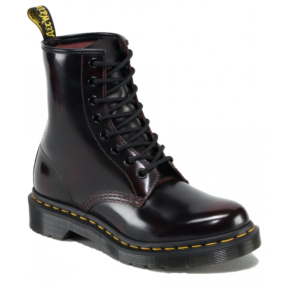 7a94ce8b53ac0 Dr Martens Dr Martens Womens 1460 Cherry Red Arcadia Ankle Boots 13661601
