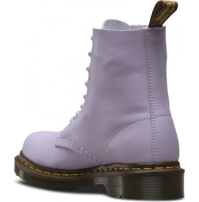 Dr. Martens 1460 Pascal Virginia in Purple Heather | Boots