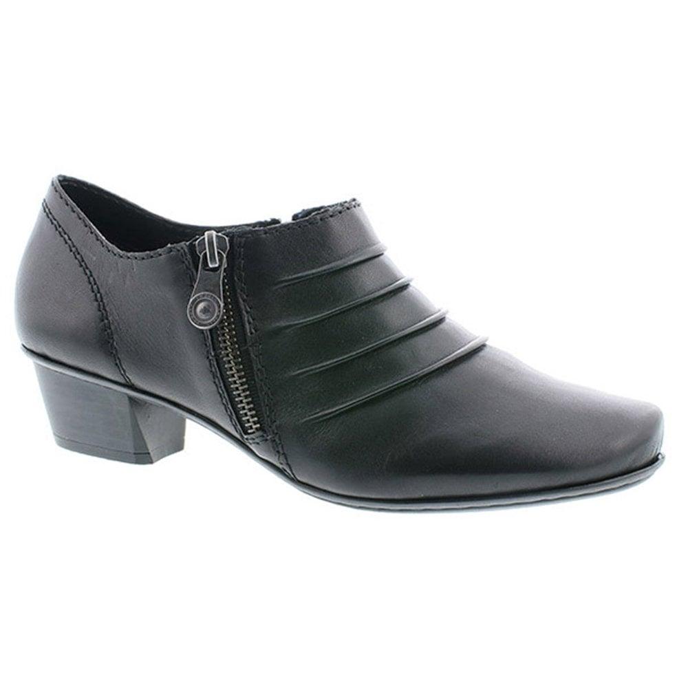 Rieker 53871-01 Lugano Black Leather