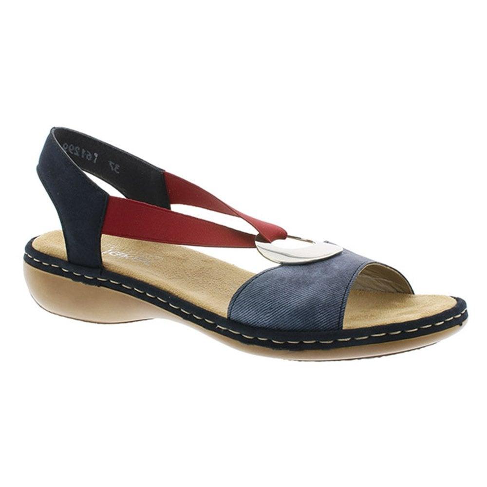 Rieker 659Q9-14 Chios Jeans/Pazifik