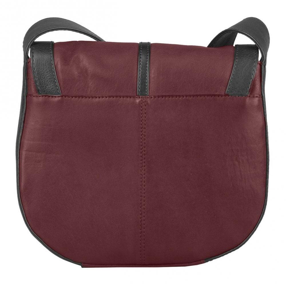 d36cf407 Bolla Bags Bolla Bags Womens Acacia Cherry/Black Flapover Cross Body Handbag