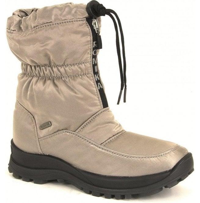 Romika Romika Womens Alaska 118 Taupe Waterproof Zip Boots 57b7d7068
