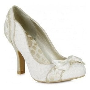 05e8fab25a9e3 Womens Amy Cream Court Shoes 09085 Last Pair · Ruby Shoo ...
