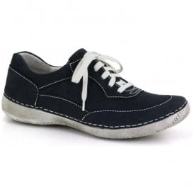 cfaf1345d Womens Antje 09 Blue Lace Up Trainers 82909 869561 · Josef Seibel ...
