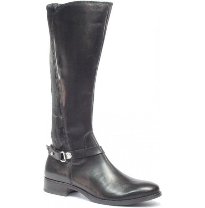 4bcf6928f582c Caprice Caprice Womens Belen Black High Leg Boots 9-25521-29 022