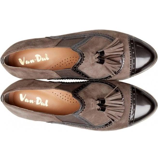 06786c9091c85e Van-Dal Womens Boyce Storm Suede Slip-On Shoes 2744630