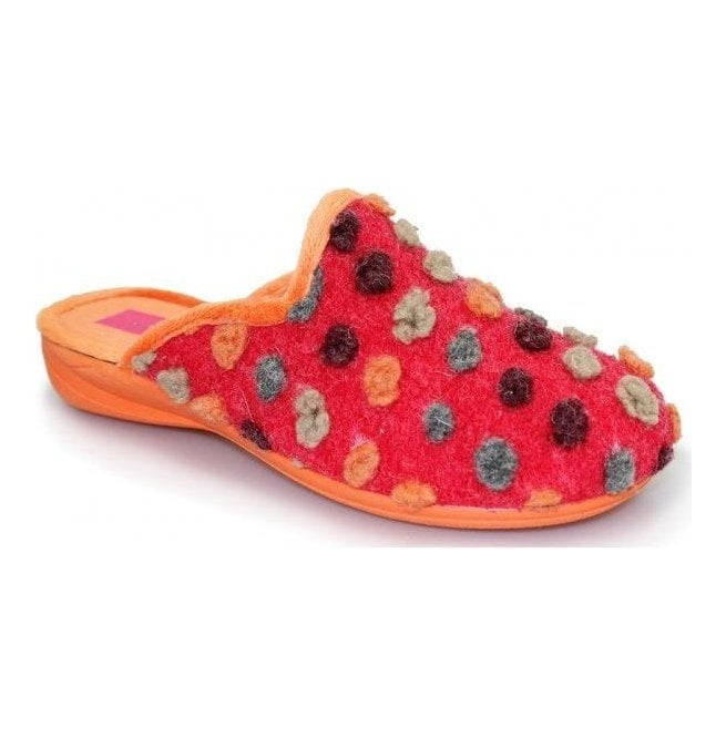 5d64a1d63e33 Womens Lunar Slippers Bubblegum Red at Marshall Shoes