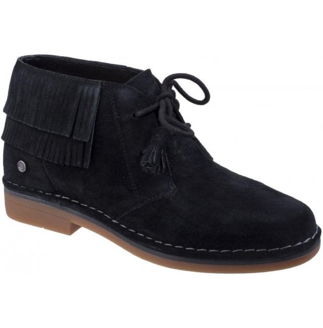 Hush Puppies Cala Catelyn Black Lace up