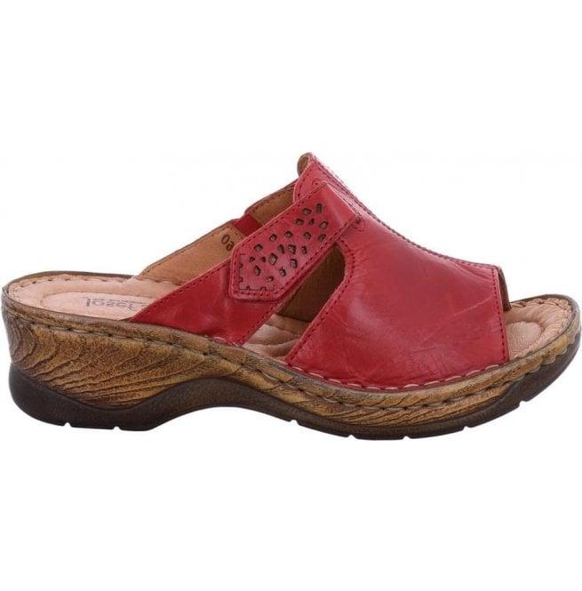 bce6e6f93 Womens Catalonia 32 Red Velcro Mules 56496 88 400