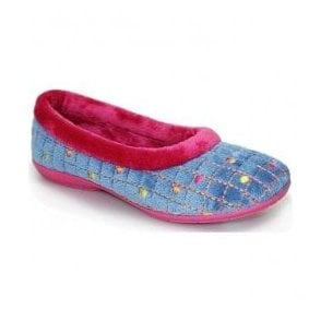 e1c2afc95 Moshulu Ladies Butterfly Cake 2 Purple Slipper
