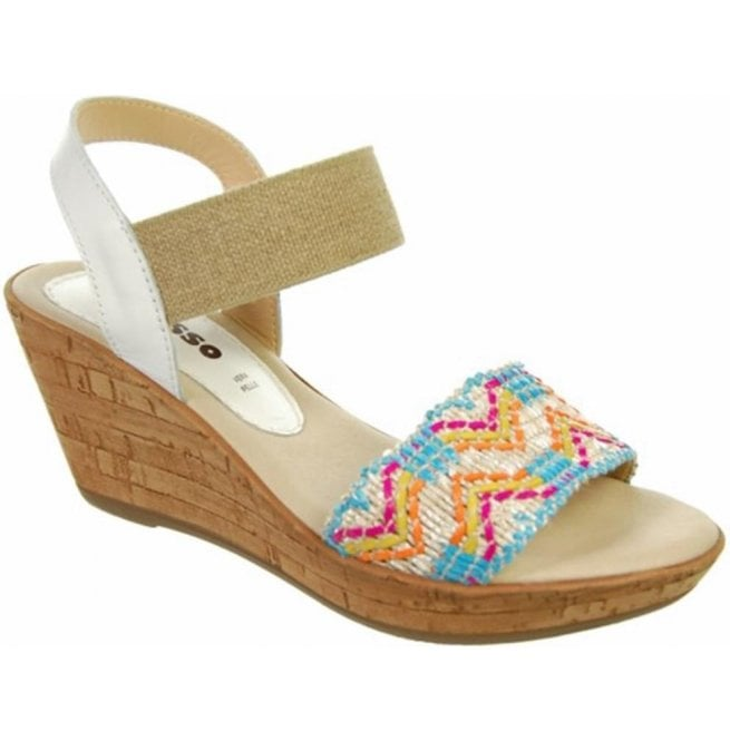 a48980a9 Adesso Connie Aztec Slip On Sandals at Marshall Shoes