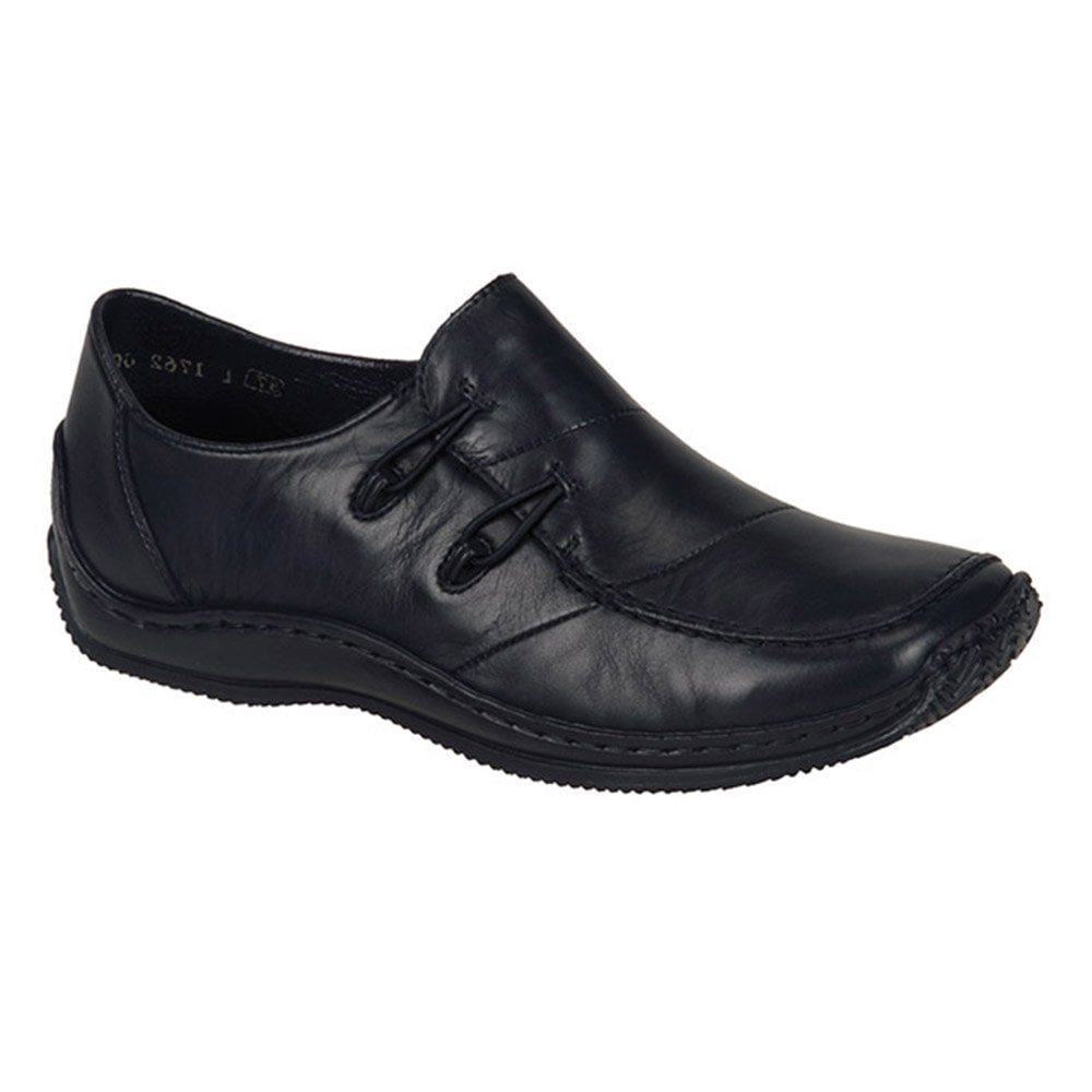 0847dc19070 Rieker Rieker Womens Cristallin Black Casual Slip On Shoes L1762-00