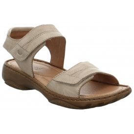 f9853477d Womens Debra 19 Sand Leather Velcro Sandals 76719 88 220. Josef Seibel ...