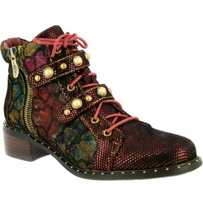 where to buy wholesale price durable in use Womens Emma 02 Rouge Zip-Up Heeled Ankle Boots