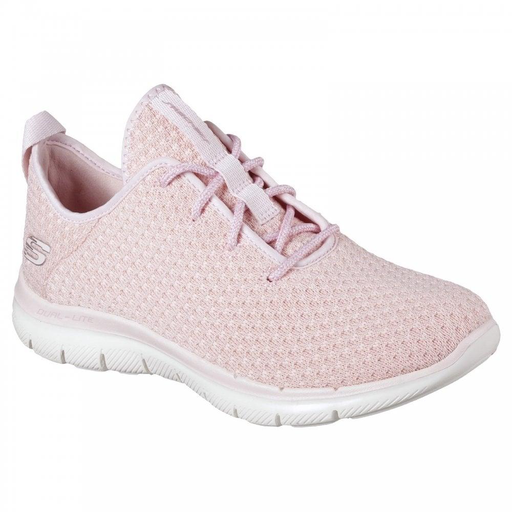 Skechers Flex Appeal 2.0 Bold Pink Lace