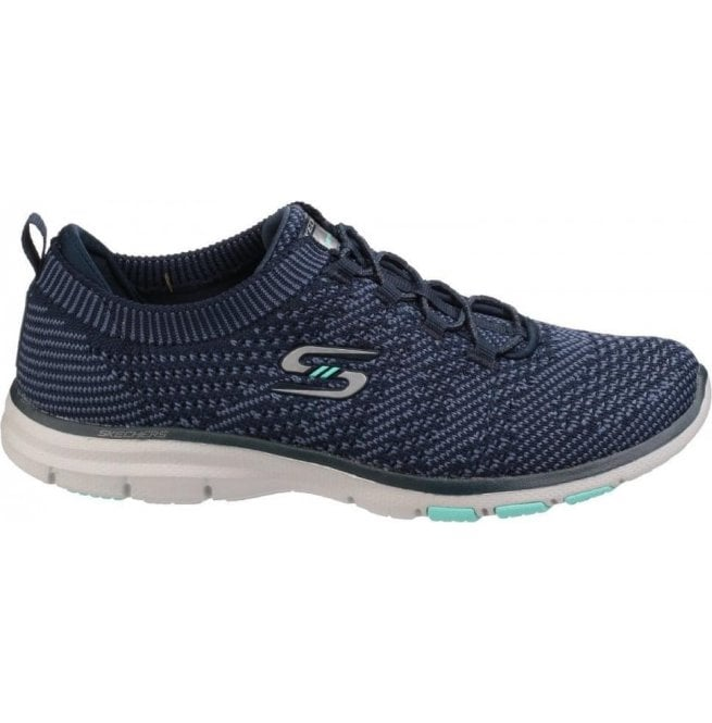 Skechers Galaxies Navy/Blue Bungee Lace