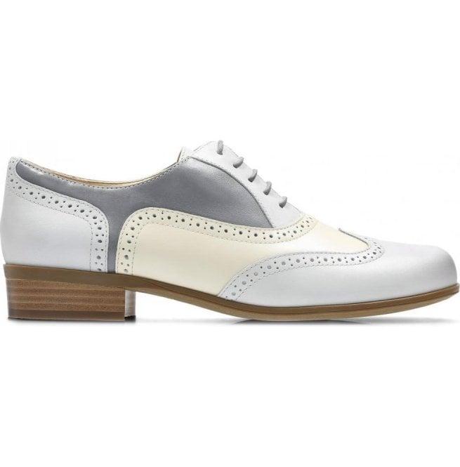 Clarks Hamble Oak Grey Combi Leather