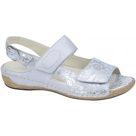 4ee7a8fc Womens Heliett Lissi Memphis Mare Light Blue Velcro Sandals 342022 200 140.  Waldlaufer ...