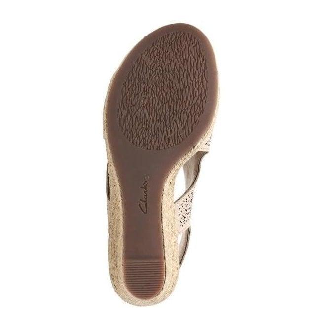 b368dd066fe Womens Lafley Rosen Sand Leather Wedge Sandals 26133775