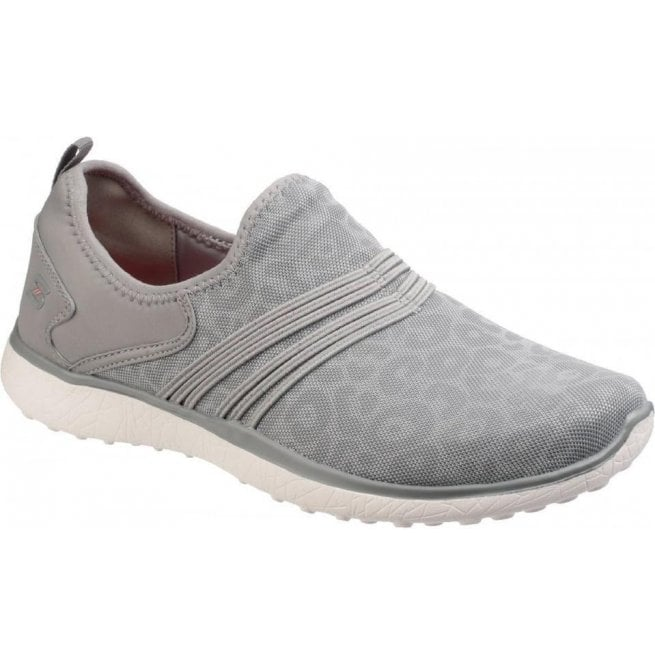 Wraps Slip-On Grey Trainers SK23322