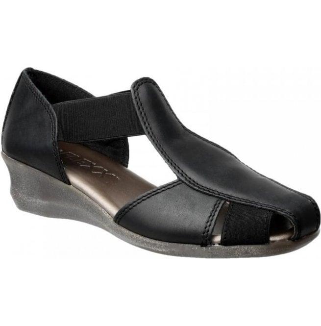 3f9960fc4ede24 The Flexx The Flexx Womens Mr T Cashmere Black Closed Toe Sandals