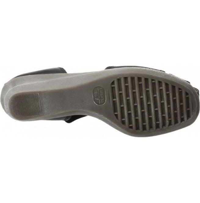 667035aafce718 The Flexx Womens Mr T Cashmere Black Closed Toe Sandals