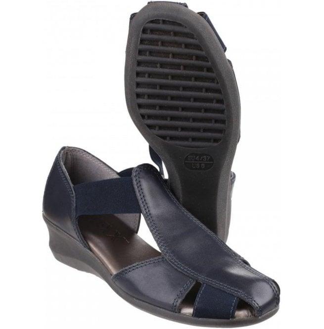 71be882c3633a9 The Flexx Womens Mr T Cashmere Blue Closed Toe Sandals