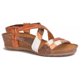 442fc42e02af Womens Multi-Colour Leather Slip-On Sandals 404 B8 25 · Marila ...