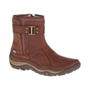 965a82a0 Womens Murren Strap Terracotta Waterproof Ankle Boots J45516