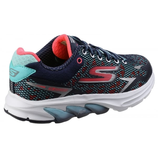 Skechers Womens NavyCoral Go Meb Strada 2 Trainers SK14115