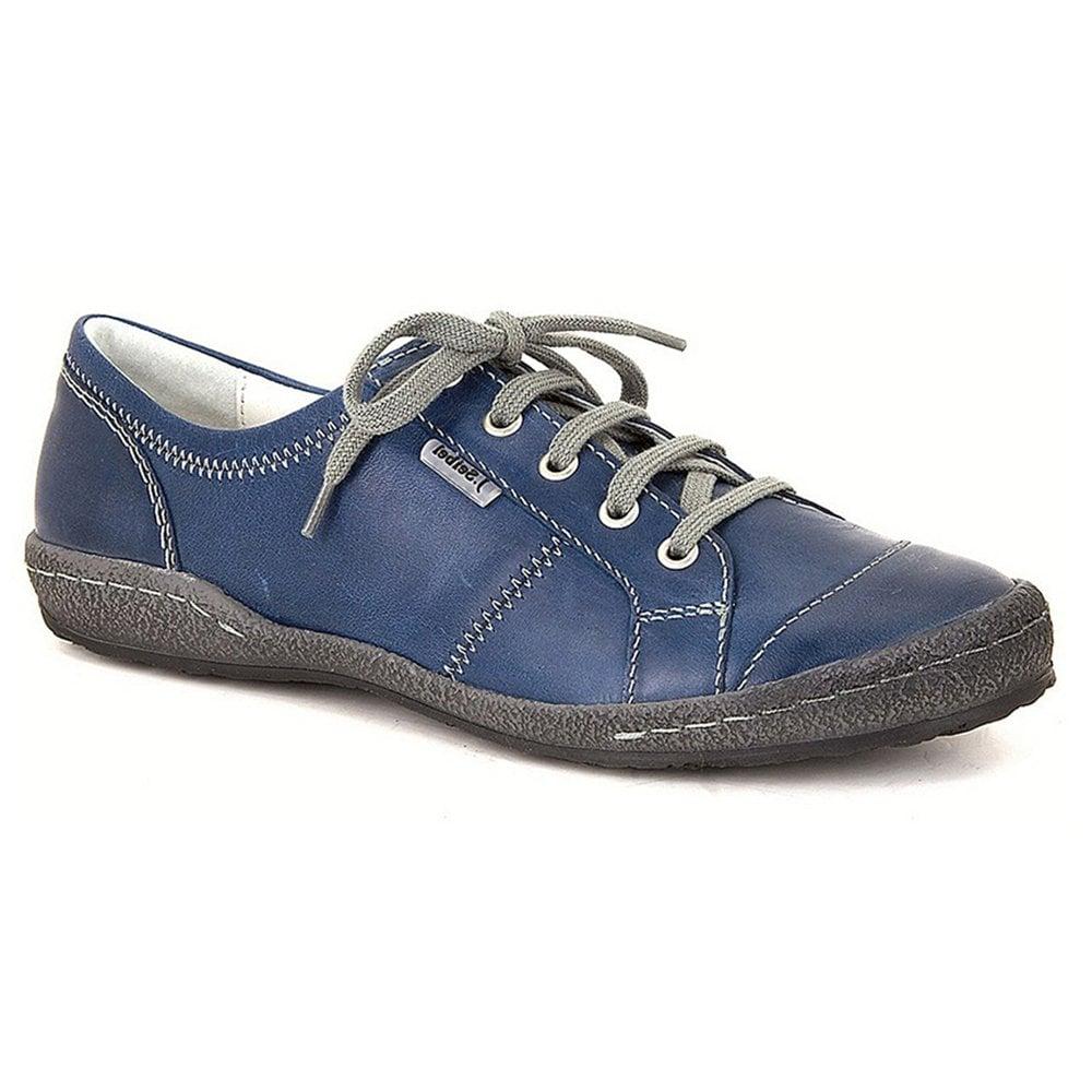 0e36b89b82504 Josef Seibel Womens New Caspian Jeans Leather Trainers 75651 950 830