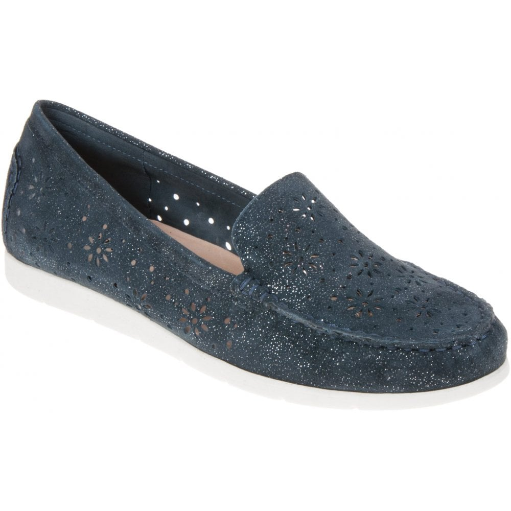 delicate colors buy popular buy online Womens Ocean Leather Slip-On Moccasins 9-24551-22 891