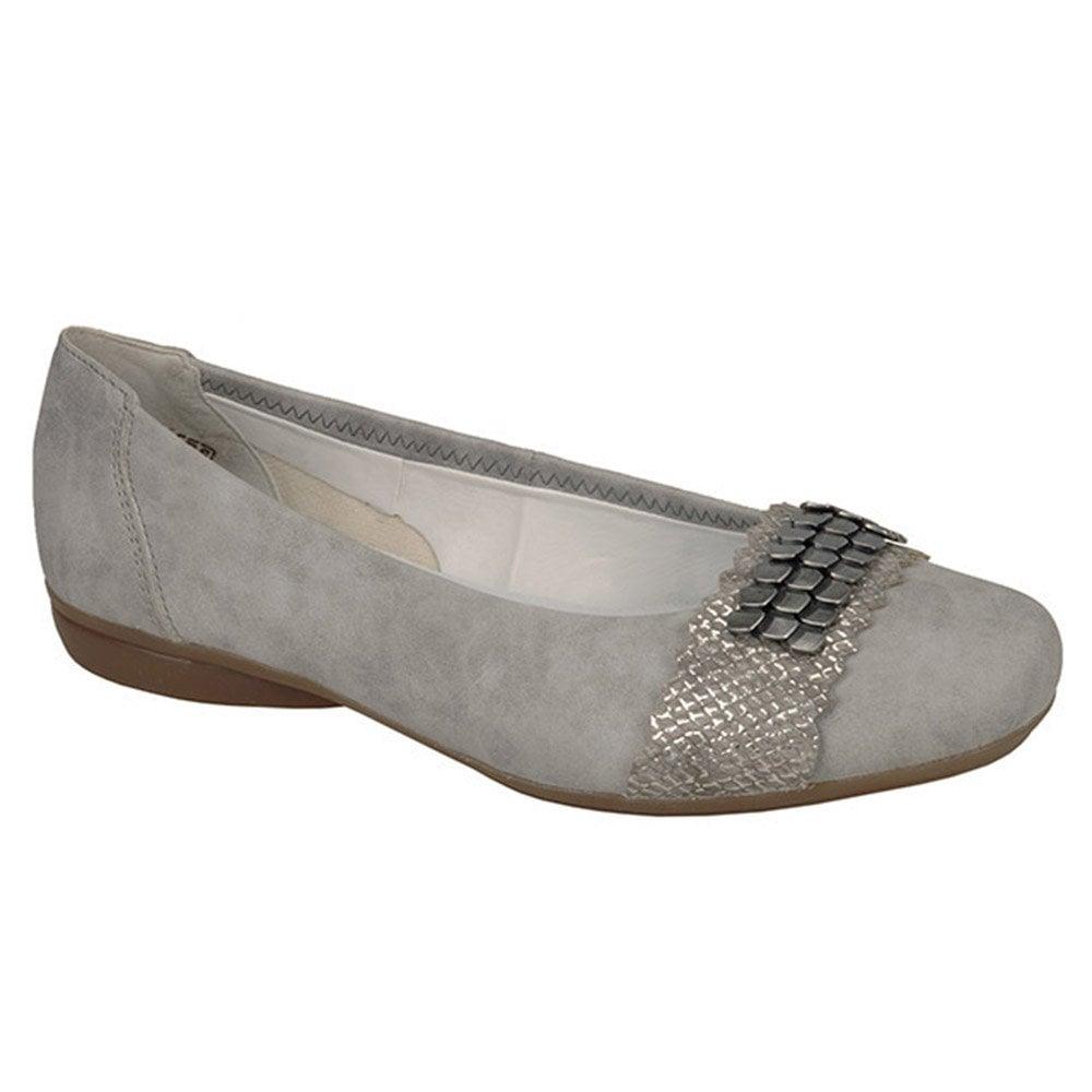 L8360 41 Ladies Grey Slip on shoes