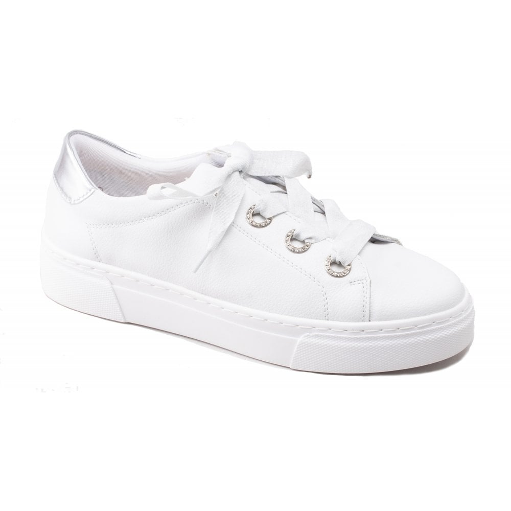 Remonte R3103-80 Pampiona White Lace-Up