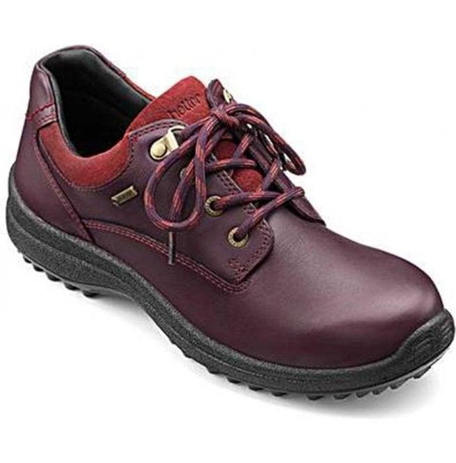 6bc2b63c733 Womens Ramble Extra Wide GTX Aubergine/Cherryberry Nubuck Waterproof Shoes