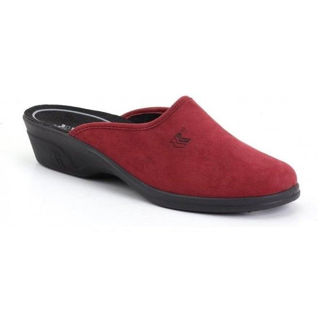 1f420b1873a1 Romika Romika Womens Remo 122 FR Red Mule Slippers 62012 73 400
