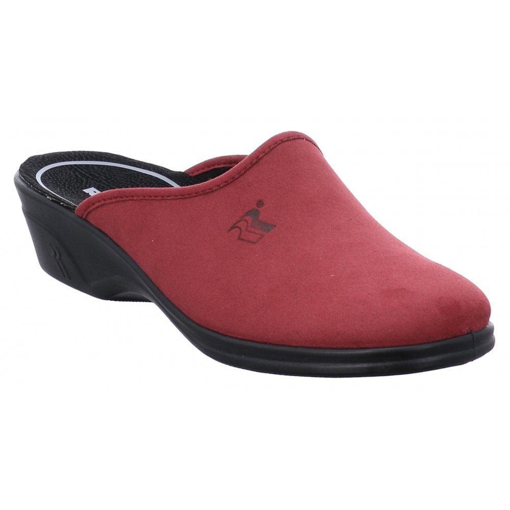 Romika Remo 122 FR Red Mule Slippers