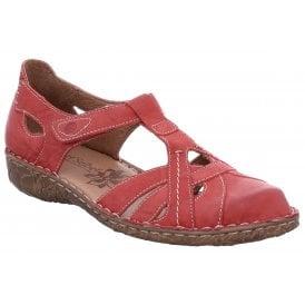 d849e19ac Womens Rosalie 29 Hibiscus T-Bar Velcro Shoes 79529 95 450 New In · Josef  Seibel ...