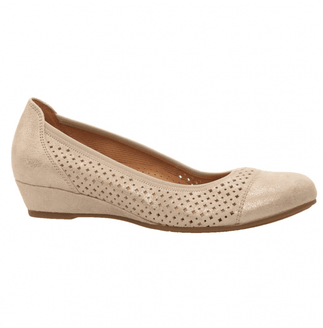 dc5b8f706805c2 Gabor Gabor Womens Samara Copper Slip-On Wedge Shoes 695.94
