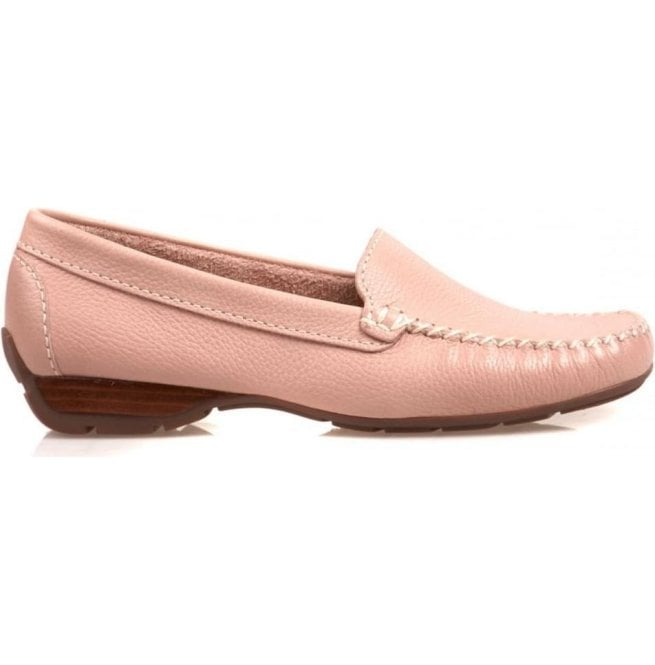 8541c6e15e Van Dal Womens Sanson Pink Casual Leather Loafer 2156950