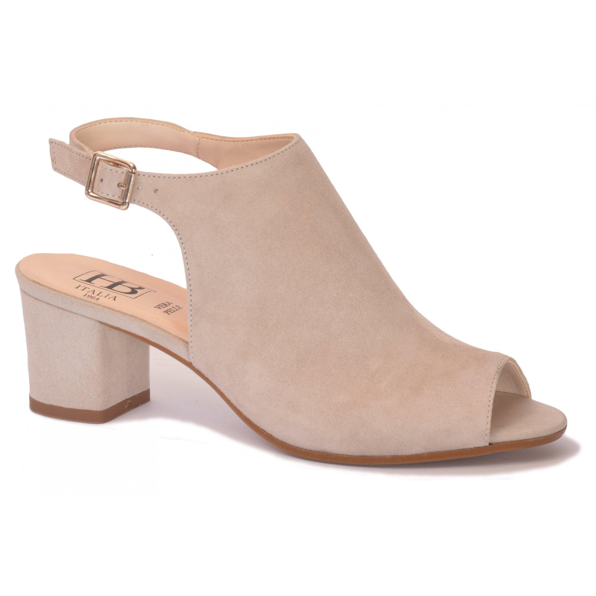 HB Shoes Shannon B692 Beige Suede