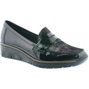 Rieker Ladies Cindy Beige Mary Jane Shoe 44865 20 | Marshall