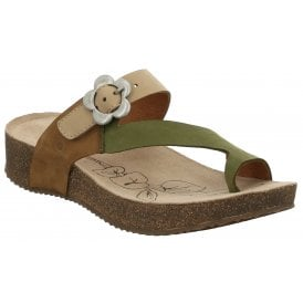0fba68946 Womens Tonga 23 Olive-Multi Strap Over Sandals 78515 724 632 New In · Josef  Seibel ...