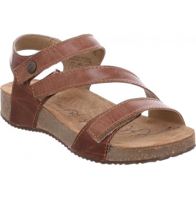 e89048940a70 Josef Seibel Josef Seibel Womens Tonga 25 Camel Velcro Sandals 78519 69 480