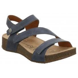 2768acfa6 Womens Tonga 25 Jeans Velcro Sandals 78519 128 540 New In · Josef Seibel ...